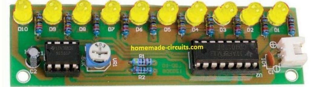 LED chaser board