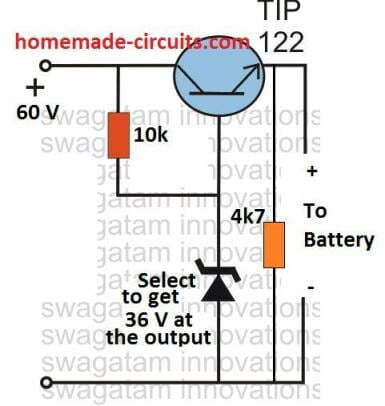 single transistor Li-ion charger circuit