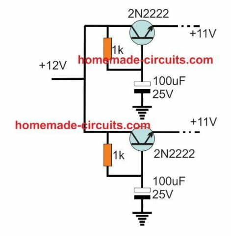 battery bifurcate circuit