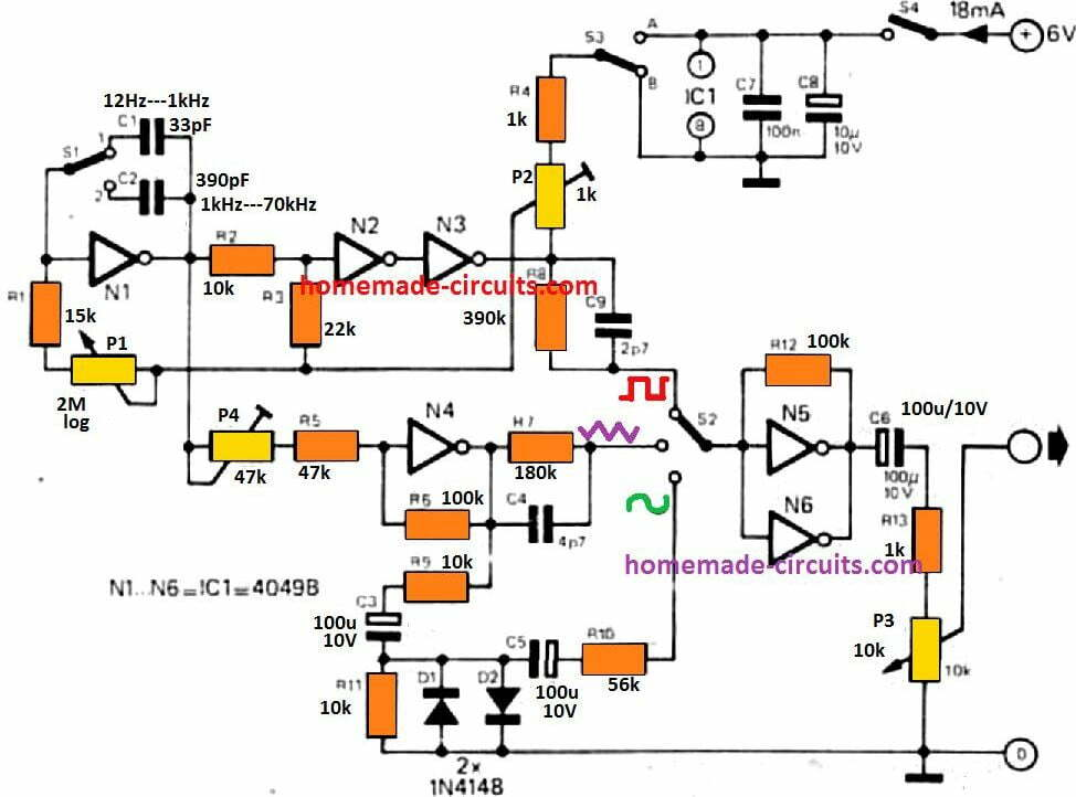 simple function generator circuit