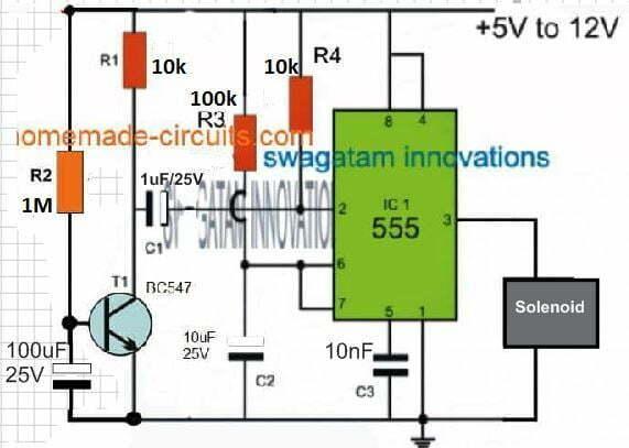 solenoid timer circuit