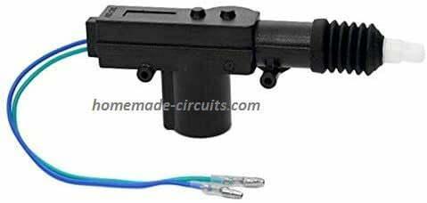 car central lock gun as door lock remote