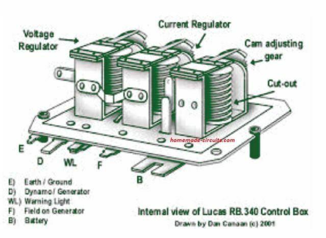 4 Solid State Car Alternator Regulator, Smart Car Alternator Wiring Diagram