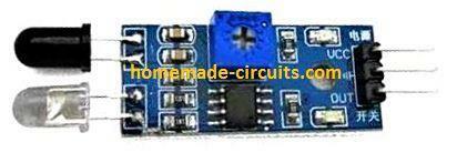 IR proximity detector module