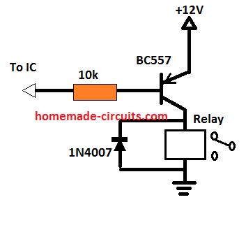 pnp relay driver