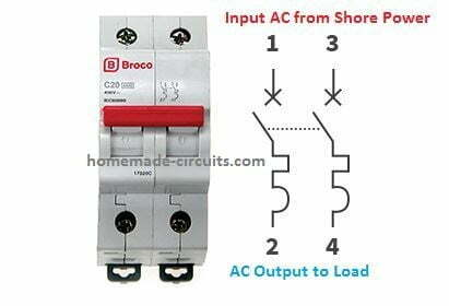 circuit breaker changeover circuit