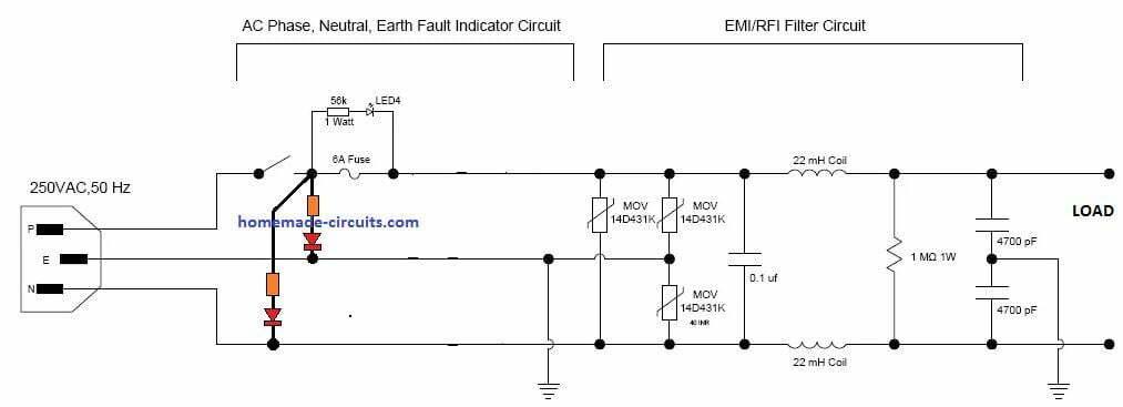 computer strip board circuit diagram
