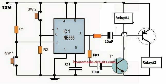 set reset pump motor