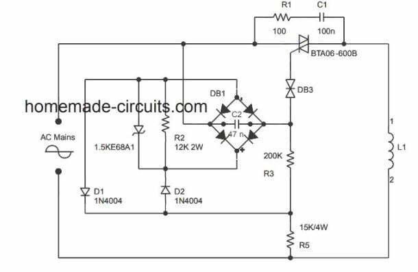 220v To 110v Converter Circuit