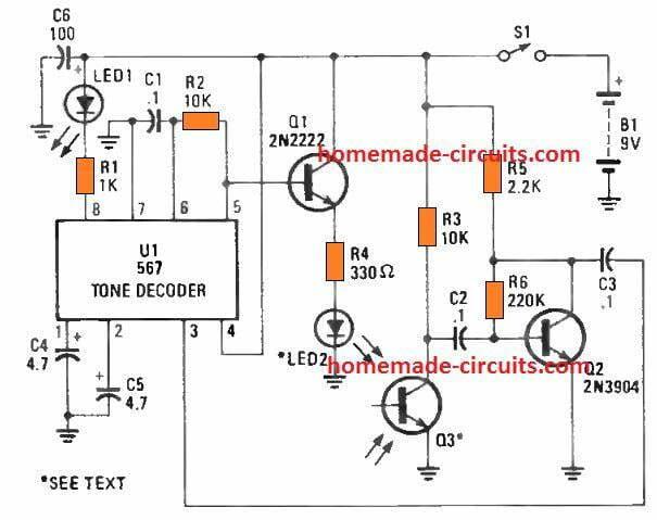 3 Simple Proximity Sensor Circuits