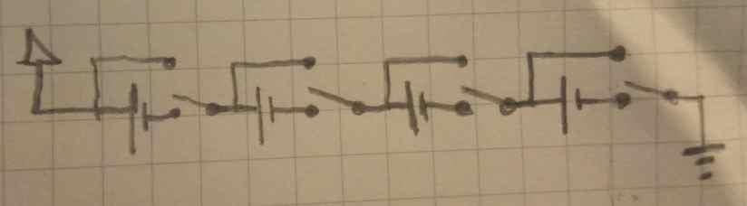 SPDT chnageover for Li-ion balancing