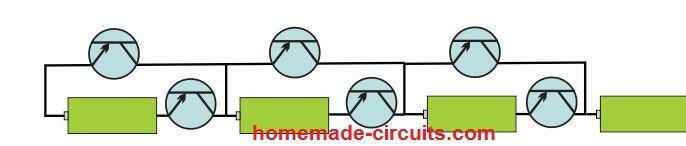 sereis cell control using transistor SSR