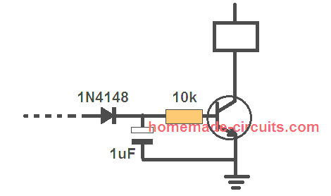 how to prevent relay chattering in a transistor relay driver