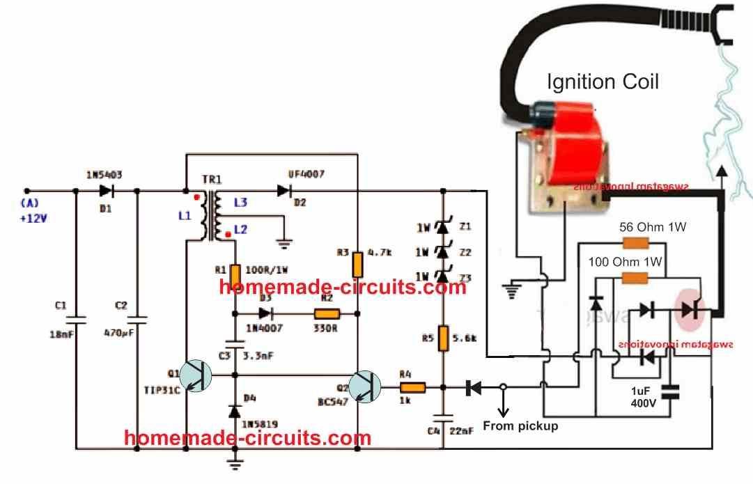 electronic CDI circuit