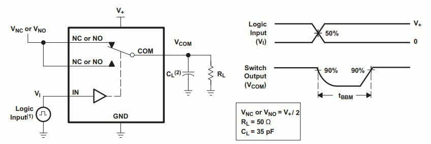 analogue SPDT switch