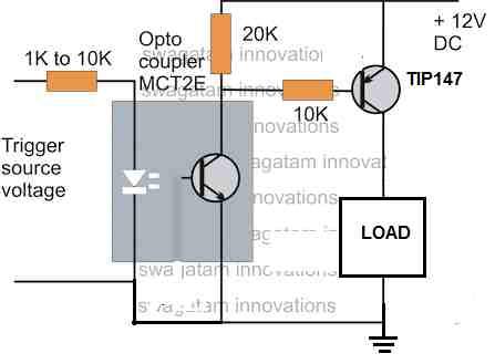 car tail lamp isolation through optocoupler