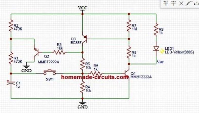 latch flip flop using transistor