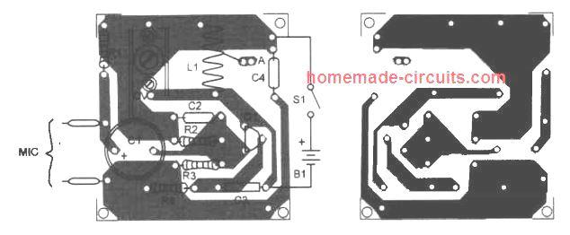 transmitter PCB design