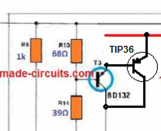 how to connect a Darlington to amplifier