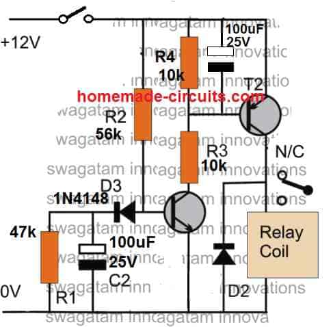 double ON/OFf delay circuit