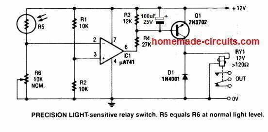 how to stop relay chattering by adding a capcitor across base emitter of the driver transistor
