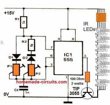 IR LED power flood lights