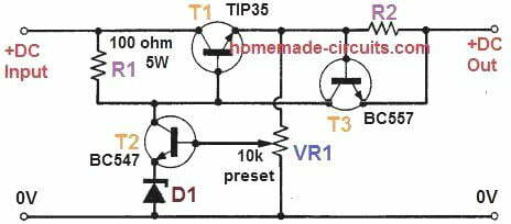DC to DC converter for motor cycle battrey