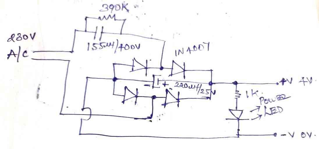 transformerless rectifier