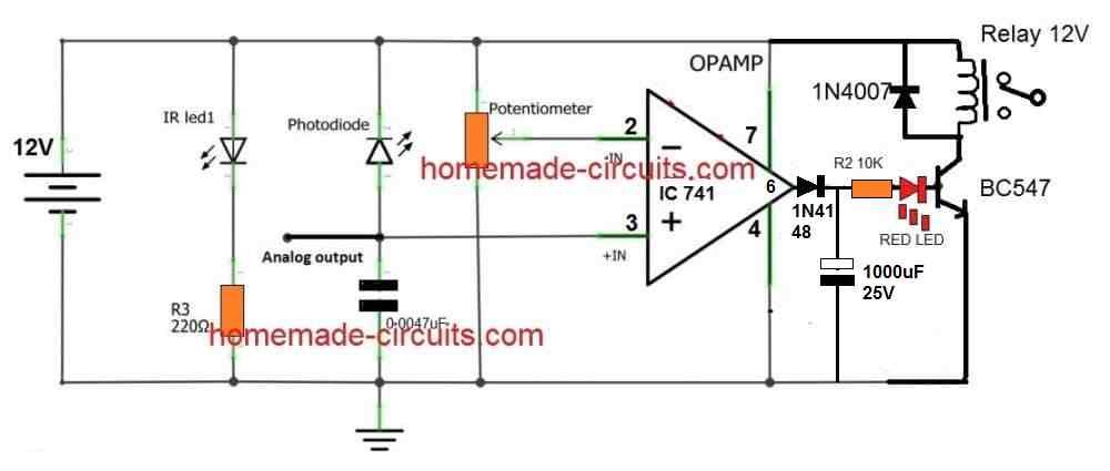 photodiode proximity sensor delay OFF feature