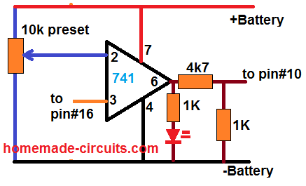 SG3525 low battery cut off circuit
