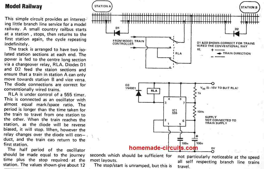 model railway controller