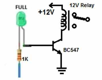 ultrasonic water level with relay conbtrol