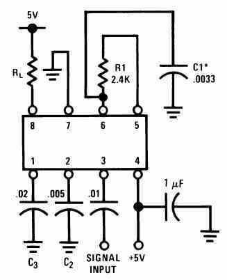 LM567 test circuit