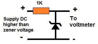zener testing circuit