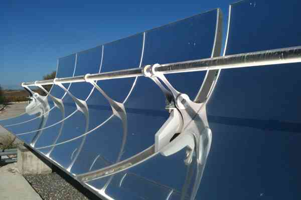 water desalination on large scale using parabolic mirrors